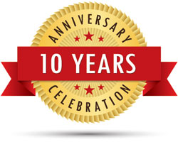 10 Years Anniversary Celebration