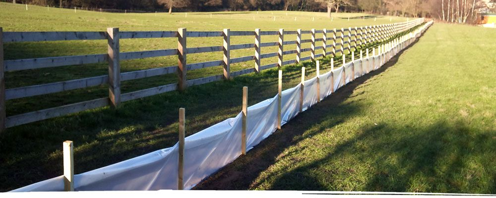 Fence erection in North Wales